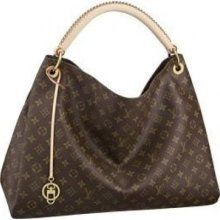 Louis Vuitton Monogram Canvas Artsy MM The Artsy MM embodies understated bohemian style. Louis Vuitton's iconic and divinely supple Monogram canvas is enhanced by rich golden metallic hardware and an exquisite handcrafted leather handle. Louis Vuitton Artsy Mm, Louis Vuitton Monogram, Lv Handbags, Handbags Online, Louis Vuitton Handbags, Designer Handbags, Canvas Handbags, Discount Handbags, Purses Online