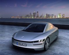 VW XL 1. Only 100 of these vehicles will be made in the first run, making it a truly custom car. That's pretty wild. But, what's really nuts is the fact it's powered by a 2-cylinder TDI engine & electric motor, which combine to create a futuristic fuel consumption of 261 miles per gallon.
