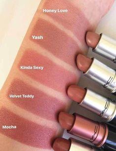 52 Amazing mac lipstick shades that you should own - mac lipsticks, mac matte li. 52 Amazing mac lipstick shades that you should own - mac lipsticks, mac matte lipstick, powder kiss lipstick, Mac Lipstick Colors, Mac Lipstick Shades, Mauve Lipstick, Orange Lipstick, Brown Lipstick, Makeup Lipstick, Lipstick Mac, Mac Makeup, Lip Colors