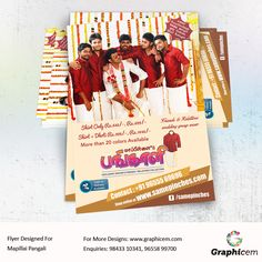 Flyer Designed For Mapillai Pangali