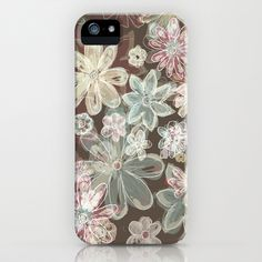 Flower burn iPhone Case by Polkip - $35.00