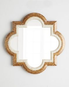 Violeta Quatrefoil Mirror by NM EXCLUSIVE at Neiman Marcus.