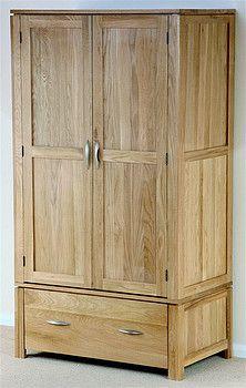 Galway Solid Oak Wardrobe