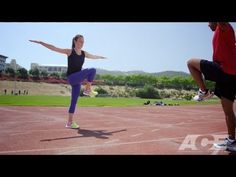 Check out our Track and Field inspired workout that we created with Olympic gold medalist Allyson Felix!
