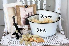 A spa products # vintage  vignette! #spa