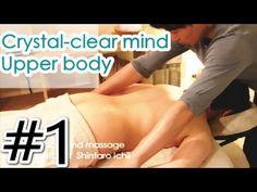 【Crystal-clear mind massage】#1 Meditation chakura Japanese traditional m...