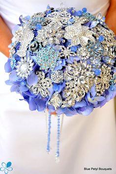 Empress Periwinkle - Blue Petyl Bouquets