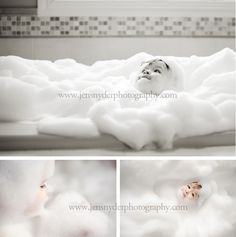 Bubble bath lifestyle session - SO FUN!!!  and the kid is ADORABLE ;)