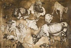 Francisco Goya Se Aprovechan Original Etching by Francisco Goya 1863 1863 Francisco José De Goya, Figurative Prints, Spanish Artists, Art, Francisco Goya, Woodcut, Etching, Prints, Graphic Artwork