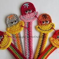 Snake Bookmark ... by Little Owl Kate | Crocheting Pattern