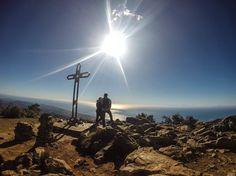 Hiking in Marbella, Spain (La Cruz de Juanar) // Photo taken with a GoPro Hero 3 Black Edition