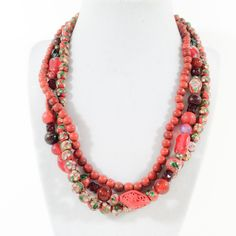 A personal favorite from my Etsy shop https://www.etsy.com/listing/225426851/vtg-beaded-necklace-painted-chinese
