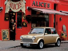 The lovely Mini Cooper