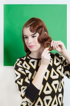 Vintage Hairstyle Techniques - How To Create Rag Curl