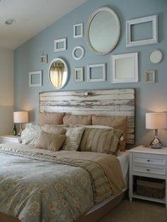 faire une tête de lit soi-même, fabriquer une tete de lit en vieille porte Plus