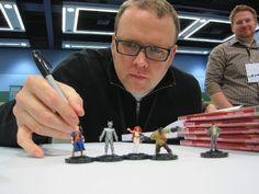 Jeff Parker with his Agents of Atlas
