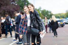 Inga Dezhina & Sofia Tesmenitskaya model offduty