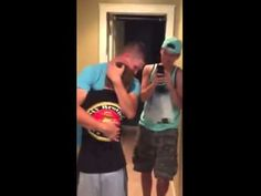 Marine surprises little brother in heartwarming reunion video - TODAY.com---I'M NOT CRYING YOURE CRYING :')