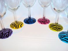 I found 'Wine glasses  Zebra print hand painted , Great for Weddings.,  Can be personalized  . Great for bridal party gifts' on Wish, check it out!