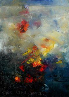 "Saatchi Online Artist: Pol Ledent; Painting, 2002, Printmaking ""Abstract 0805"""