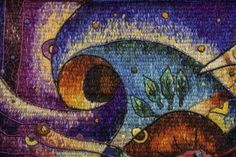 Handwoven Miniature Tapestry by Maximo Laura - Tapestry Detail - Peruvian Tapestry Art.