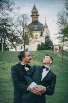 Graham & Wayne post wedding portrait session in Prague by American Photographer Kurt Vinion. Post Wedding, Prague, Wedding Portraits, Couple Photos, American, Couples, Graham, Couple Shots, Couple Photography