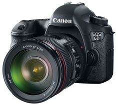 Canon EOS 6D - Full Frame, Built-in Wifi and GPS.