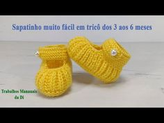 Crochet Stitches Patterns, Crochet Designs, Baby Patterns, Doll Patterns, Crochet Baby Sandals, Knit Baby Booties, Crochet Baby Shoes, Crochet Baby Sweaters, Knitted Baby