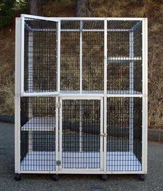 """5'(h) x 4'(w) x 30""""(d)  s515f  Standard with (2) Floors, (2) Doors, (2) 30"""" Shelves and Casters.   $795  -have this one $943 w/ tax and shipping"""