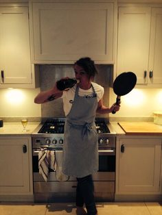 Jamie Bower cooking!
