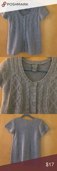 Grey Sweater Cardigan So cute with a long sleeve top underneath. Great for holiday parties or causal wear :) I have a similar green one in my closet! Buckle Sweaters Cardigans
