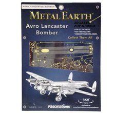 Fascinations Metal Earth 3D Laser Cut Model - Avro Lancaster Bomber. Available on OurPamperedHome.com
