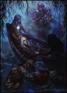 The Witcher Fan Art by Egor G.