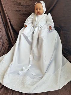 christening gown nr 198 dåpskjole nr 198 Girls Dresses, Flower Girl Dresses, Christening Gowns, Wedding Dresses, Design, Fashion, Dresses Of Girls, Bride Dresses, Moda