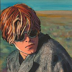 'IN THE DESERT' David Bowie as Thomas Jerome Newton in Nicholas Roeg's 'The Man…