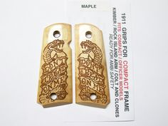 Hey, I found this really awesome Etsy listing at https://www.etsy.com/listing/172029344/compact-officer-1911-maple-dont-tread-on
