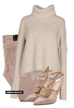 """""""Untitled #2406"""" by whokd ❤ liked on Polyvore featuring Proenza Schouler and Valentino"""
