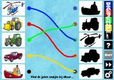Verbinden - Schaduwen van voertuigen