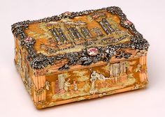 Wallace Collection's magnificent collection of 18th century gold, jeweled, enameled snuff and presentation box