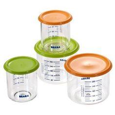 Maxi Portion 500 ml - Beaba Ahorro de espacio gracias a su función encajabe. Graduación fácil de leer para facillitar la dosificación. Zona para marcar e identificar los alimentos. Apto para lavavajillas y microondas.  http://www.petchibebe.com/shopping/products/44-Almacenaje/2692-Maxi-Portion-500-ml---Beaba/