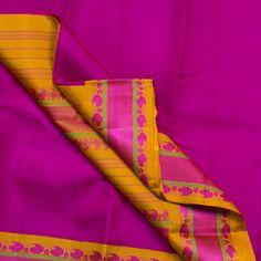 Kanakavalli Handwoven Kanjivaram Silk Sari 001536 - Sari / All Saris - Parisera