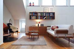 Retro Open-Plan Apartment in Stockholm, Sweden Via