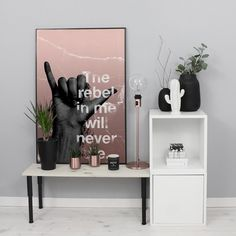 The Rebel In Me | People of Tomorrow | Hop over to our creative world at www.peopleoftomorrow.no and see them all #therebelinme #poster #artprint #interiorposter #interior #scandinavianinterior #nordicinterior #nordic #interiør #interiørplakat #interiørplakater #scandinavianlivingroom #livingroom