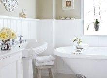 Semleges Ország Fürdőszoba Roll Top Bath