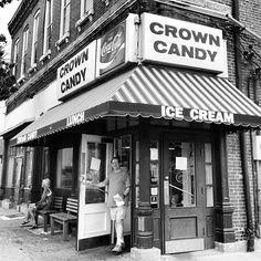 1401 ST. LOUIS AVE. Crown Candy Kitchen http://crowncandykitchen.net/