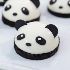 Panda panna cotta ♥