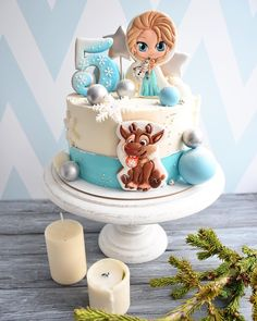 Birthday Candy, 5th Birthday, Frozen Bday Party, Pub Design, Pink Themes, Candy Shop, Alice, Party Cakes, Cake Cookies