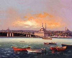 İstanbul Tabloları İST 046
