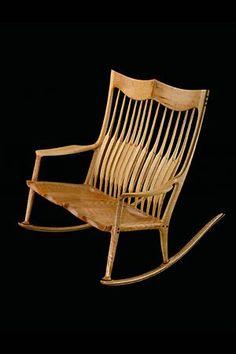 Sam Maloof - double rocking chair.