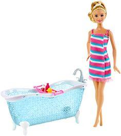 Barbie Doll and Bathtub Playset Barbie http://www.amazon.com/dp/B00TE3P9HI/ref=cm_sw_r_pi_dp_Bfmhwb09WFQWW